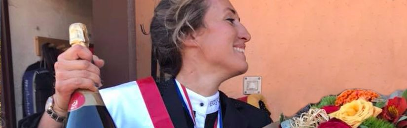 Fanny grande gagnante du master PACA Jump Amateur 1 !